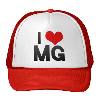 I Love MG Trucker Hats