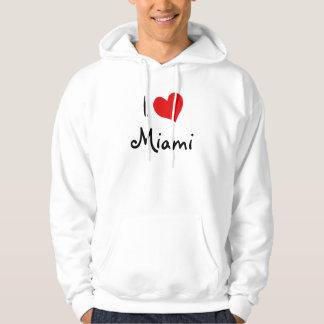I Love Miami Hoodie
