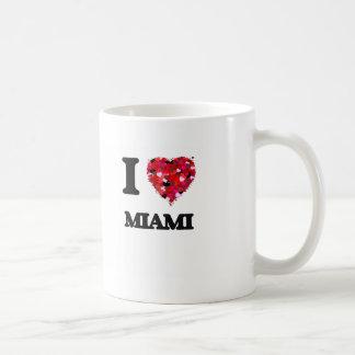 I love Miami New Jersey Basic White Mug