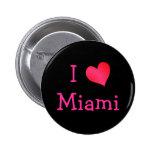 I Love Miami Pin