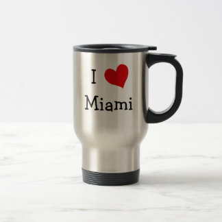 I Love Miami Travel Mug