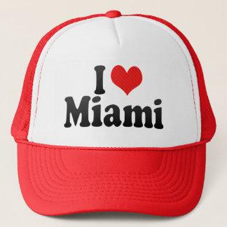 I Love Miami Trucker Hat