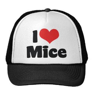 I Love Mice Hats