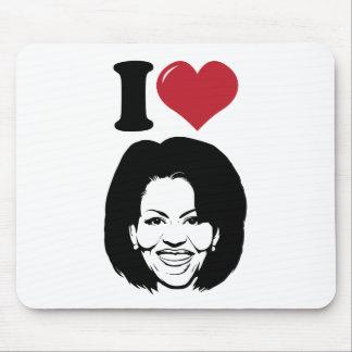 I Love Michelle Obama Mouse Pad