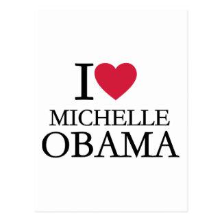 I love Michelle Obama Post Cards