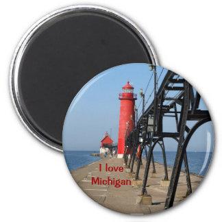 I love Michigan Magnet