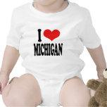 I Love Michigan Romper