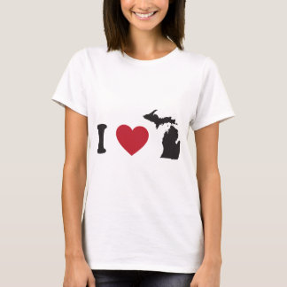 I Love Michigan T-Shirt