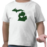 I Love Michigan Tshirts