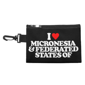 I LOVE MICRONESIA & FEDERATED STATES OF ACCESSORIES BAGS