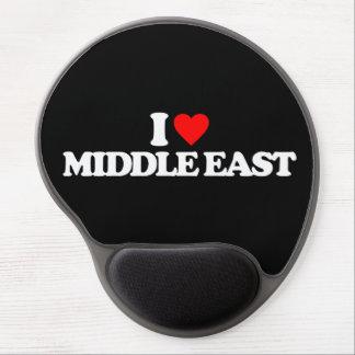 I LOVE MIDDLE EAST GEL MOUSEPAD
