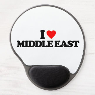 I LOVE MIDDLE EAST GEL MOUSE PADS