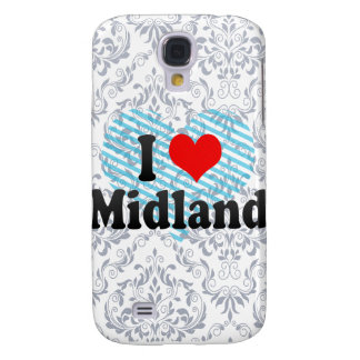 I Love Midland, United States Galaxy S4 Covers