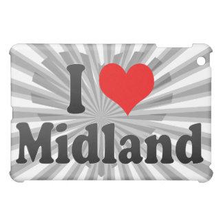 I Love Midland United States iPad Mini Cases