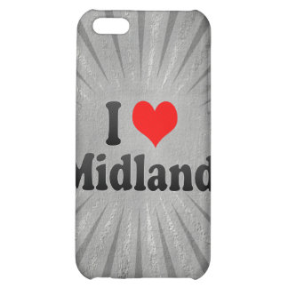 I Love Midland United States iPhone 5C Covers