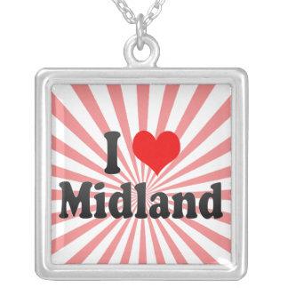 I Love Midland, United States Pendant
