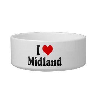 I Love Midland, United States Cat Bowl