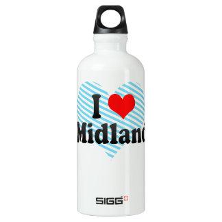I Love Midland, United States SIGG Traveller 0.6L Water Bottle