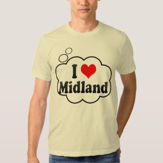 I Love Midland, United States T-shirt