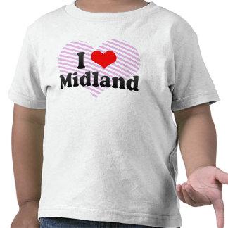 I Love Midland United States T Shirts