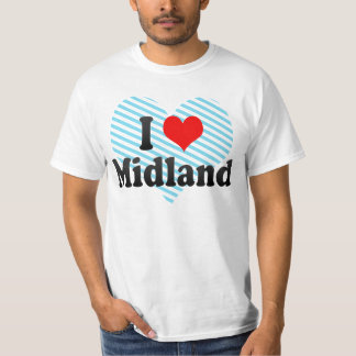 I Love Midland, United States T-shirts