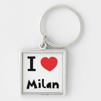 I love Milan Key Ring
