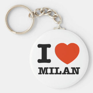 I love Milan Key Chain