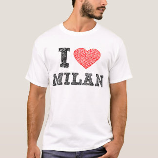 I Love Milan T-Shirt
