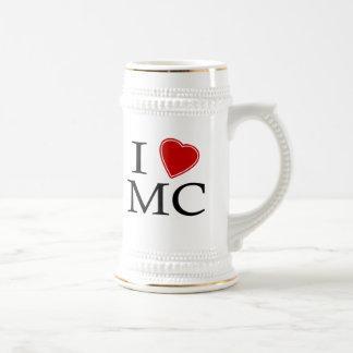 I Love Mile-High City Beer Steins