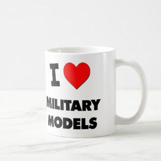 I Love Military Models Mug