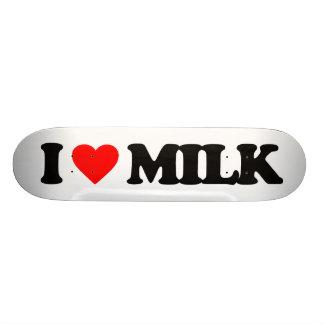 I LOVE MILK 21.3 CM MINI SKATEBOARD DECK