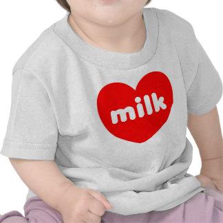 'I Love Milk' Baby T-Shirt