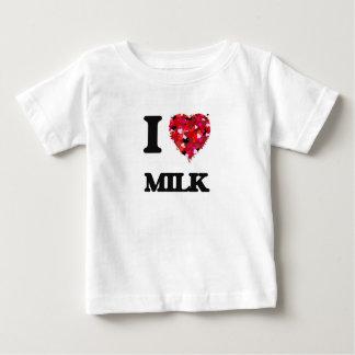 I Love Milk food design T-shirts