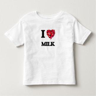 I Love Milk food design Tshirts