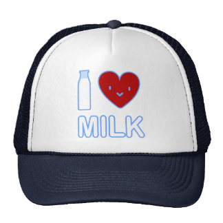 I Love Milk Hat