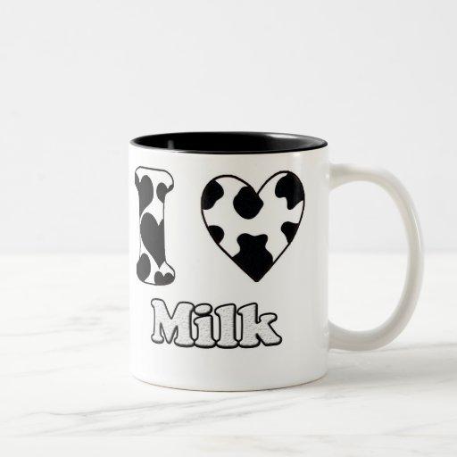 I love milk coffee mugs