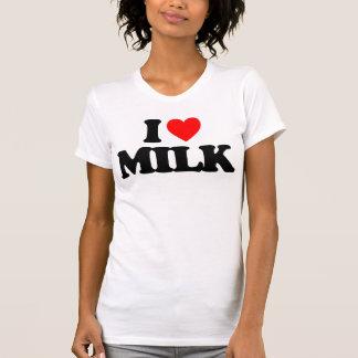 I LOVE MILK T SHIRTS