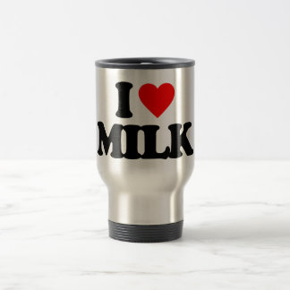 I LOVE MILK TRAVEL MUG