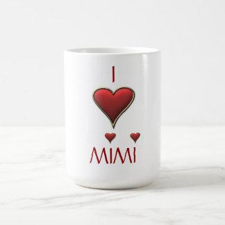 I Love MIMI Coffee Mug for any occasion