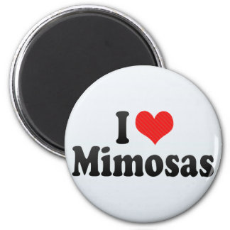 I Love Mimosas Magnet