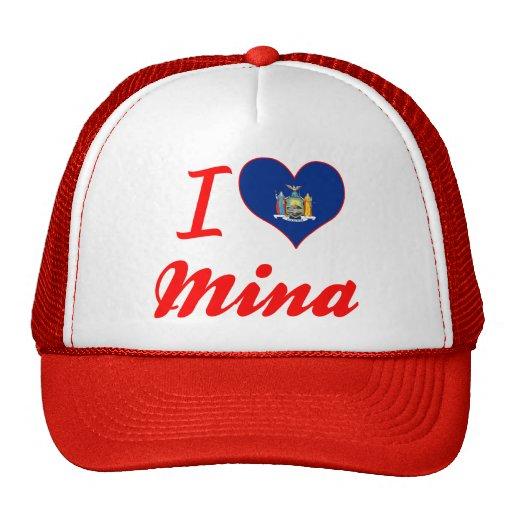 I Love Mina, New York Hat