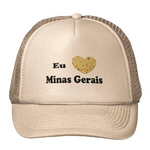 I LOVE MINAS GERAIS TRUCKER HATS