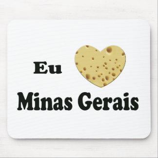 I LOVE MINAS GERAIS MOUSE PAD