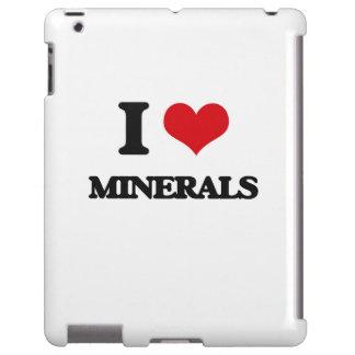 I Love Minerals iPad Case