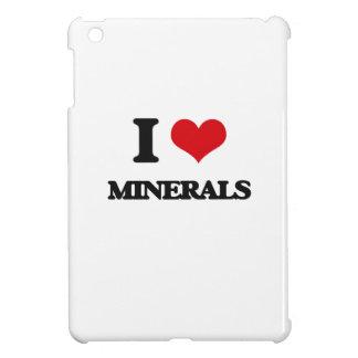 I Love Minerals iPad Mini Covers