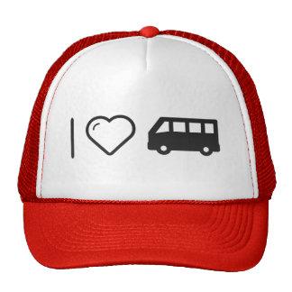 I Love Minibus Cap