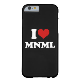 I Love Minimal iPhone 6/6s Barely There iPhone 6 Case