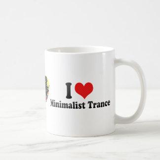 I Love Minimalist Trance Coffee Mug