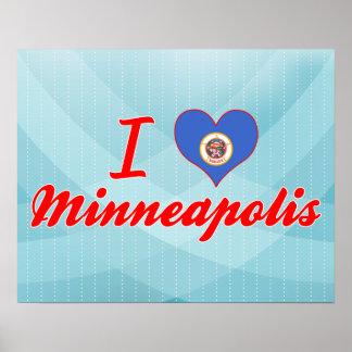 I Love Minneapolis, Minnesota Poster