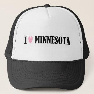 I LOVE MINNESOTA HAT